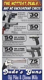 Dude's Guns ad