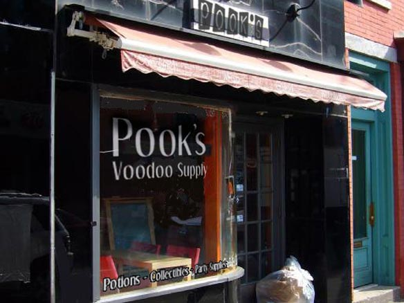 Pook's Voodoo Supply Shop