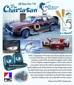 1974 FMC Charlatan ad