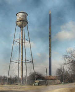 Water Tower and World's Largest Pencil