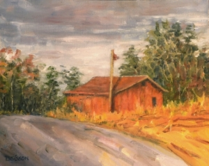 red-barn-painting