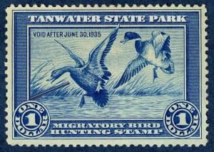 rare hunting stamp